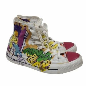 Converse Graffiti Mid Top Unisex Sneakers 8